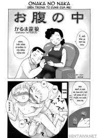 Bên trong tử cung của mẹ