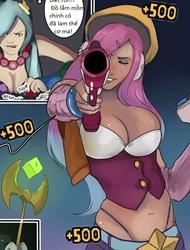 Arcade Girls: Give them no Quarter (Liên minh huyền thoại)